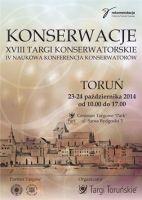 Targi Konserwacje  23-24.10.2014